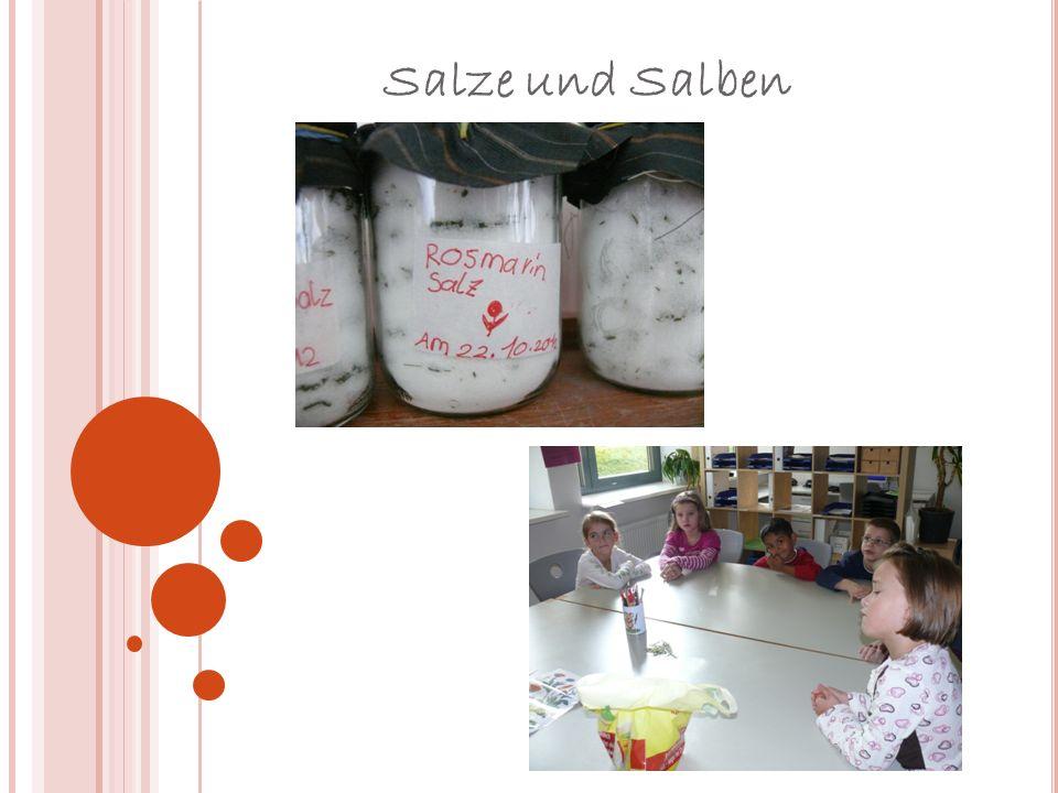 Salze und Salben