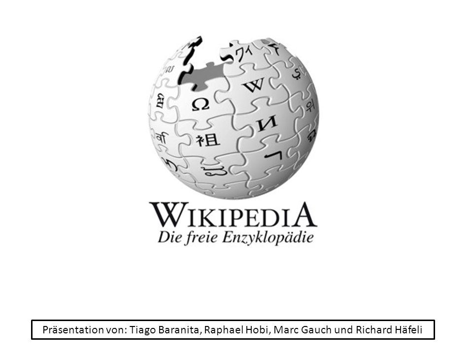 Willkommen bei Wikipedia – Sehr kurze Information über Wikipedia und die Themengebiete.