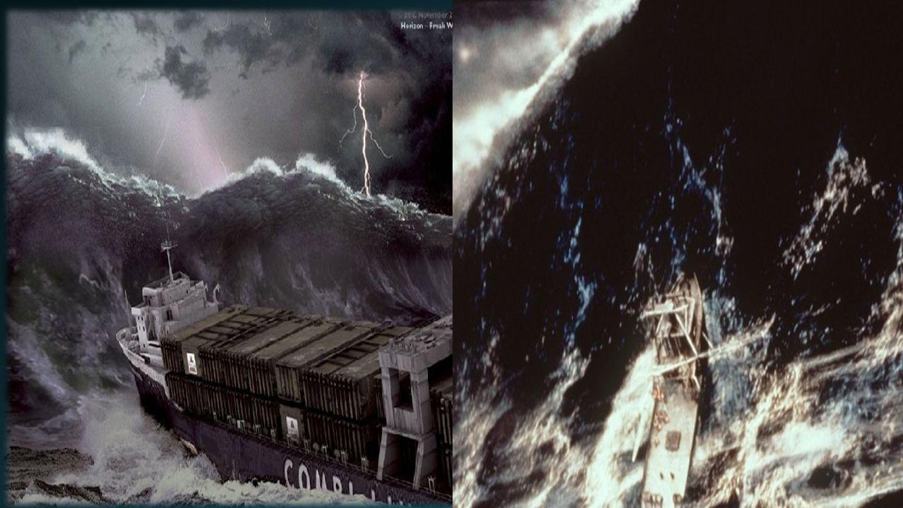 Geschichte Monsterwellen existieren schon seit Jahrhunderten in Erzählungen und Berichten von Seeleuten.