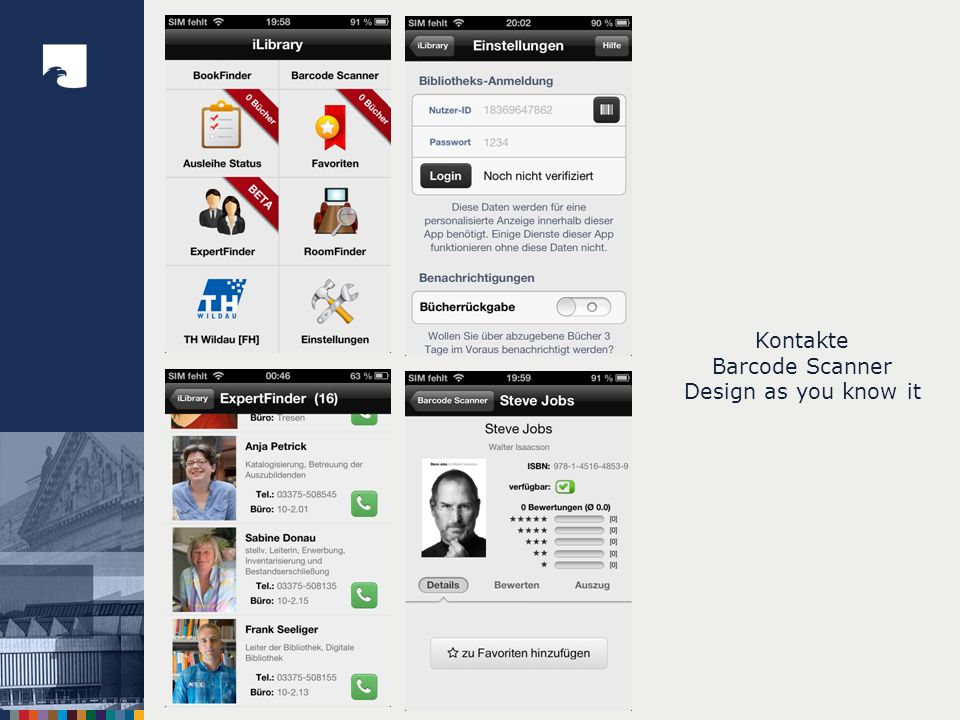 Kontakte Barcode Scanner Design as you know it