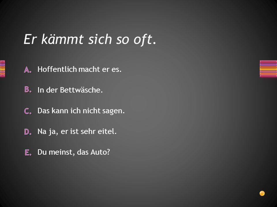Ich habe ________ das Deutschbuch gern angesehen.