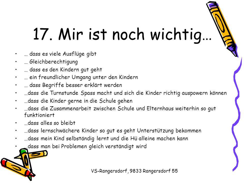 VS-Rangersdorf, 9833 Rangersdorf 55 17.