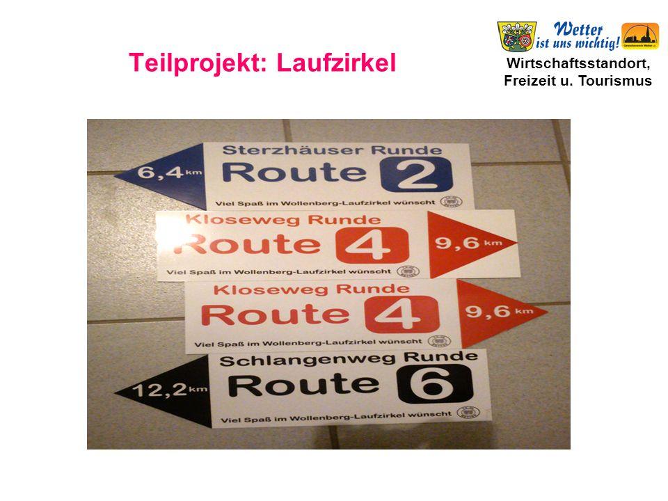 Wirtschaftsstandort, Freizeit u. Tourismus Teilprojekt: Laufzirkel