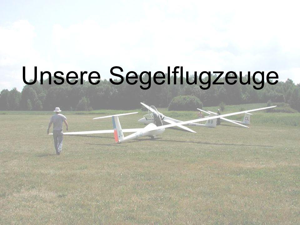 Unsere Segelflugzeuge