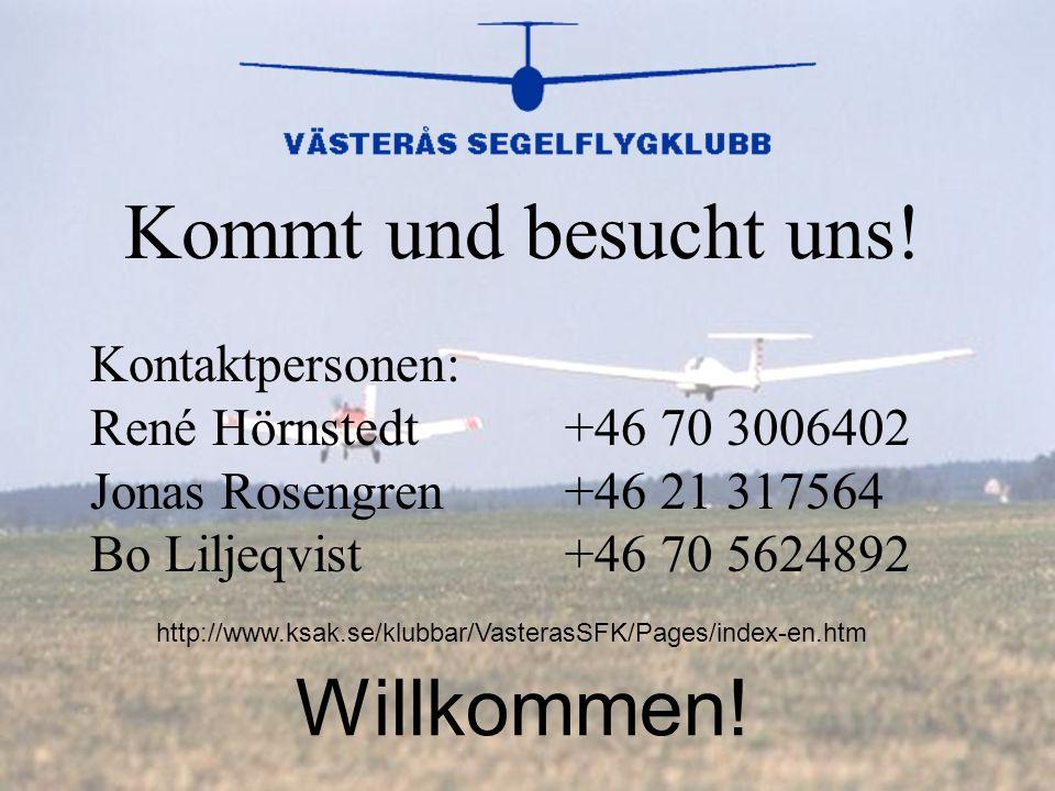 Kommt und besucht uns! Kontaktpersonen: René Hörnstedt Jonas Rosengren Bo Liljeqvist +46 70 3006402 +46 21 317564 +46 70 5624892 Willkommen! http://ww