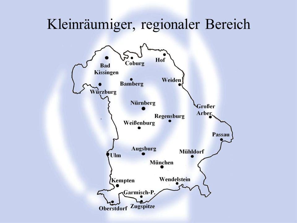 Kleinräumiger, regionaler Bereich