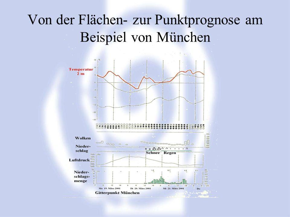 Von der Flächen- zur Punktprognose am Beispiel von München