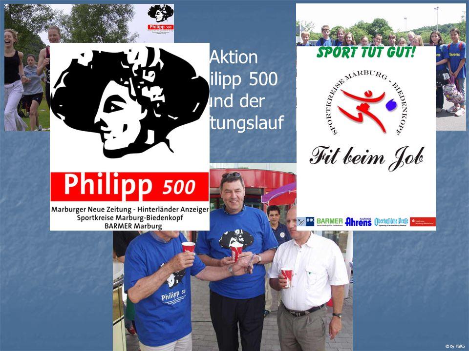 Aktion Philipp 500 und der Stiftungslauf © by HaKo