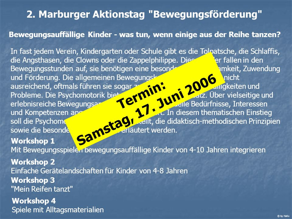 2. Marburger Aktionstag