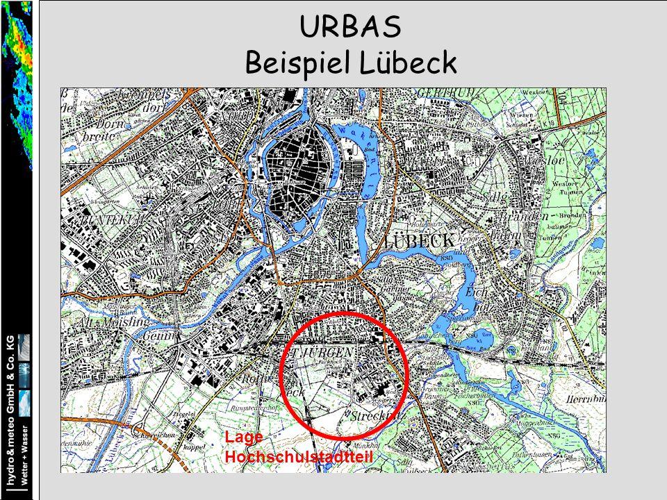 Lage Hochschulstadtteil URBAS Beispiel Lübeck