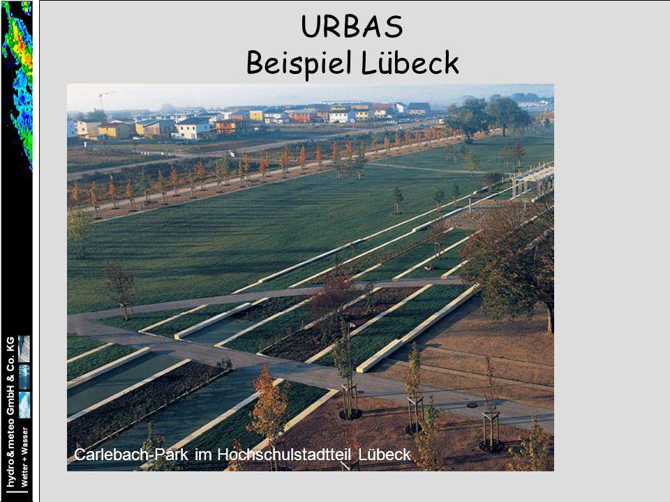 Carlebach-Park im Hochschulstadtteil Lübeck