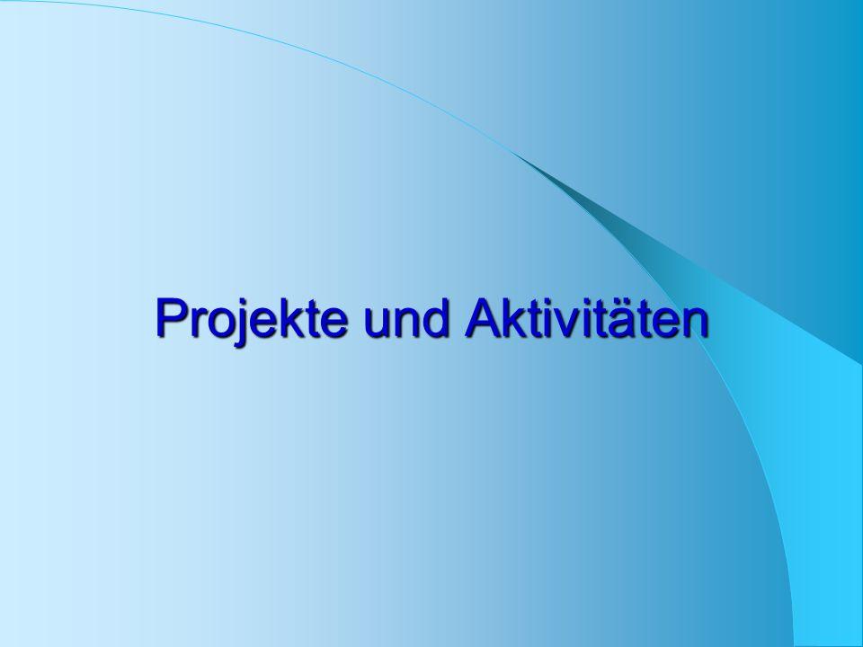 Projekte und Aktivitäten