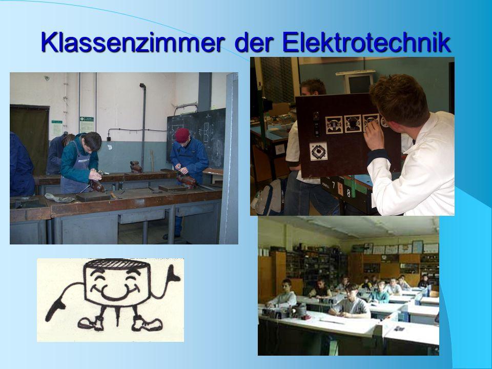 Klassenzimmer der Elektrotechnik
