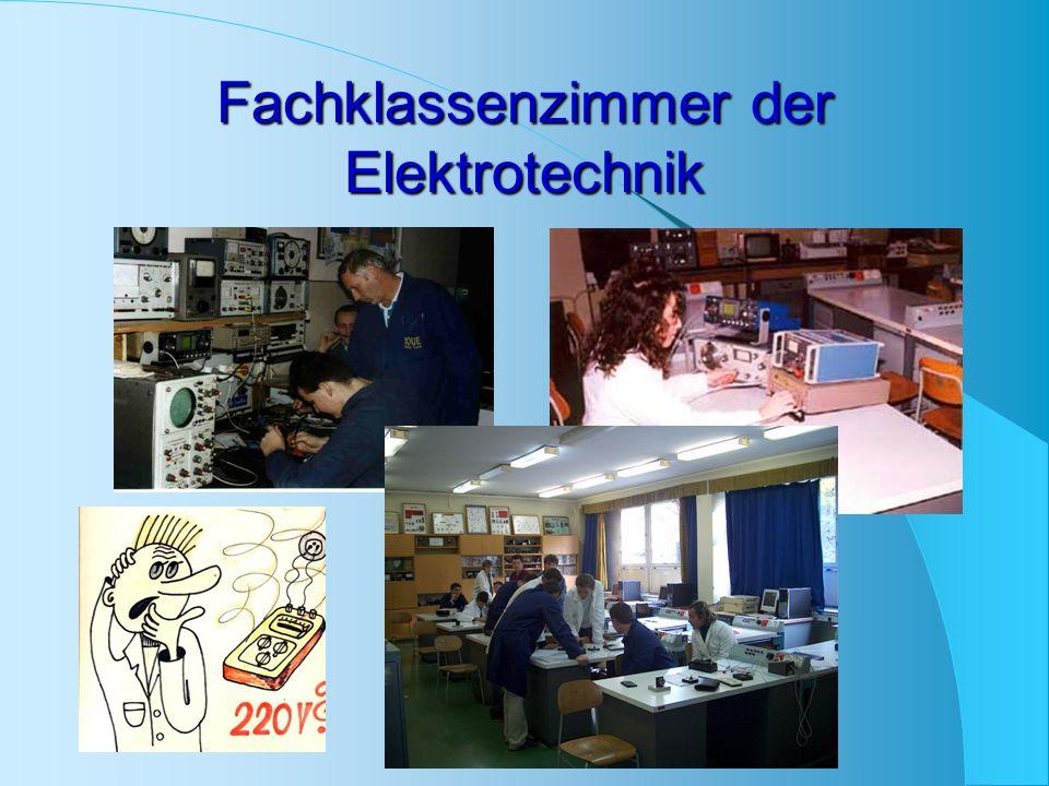 Fachklassenzimmer der Elektrotechnik