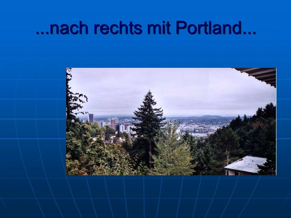 ...nach rechts mit Portland...
