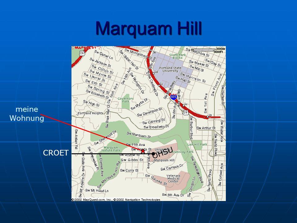 Marquam Hill CROET OHSU meine Wohnung