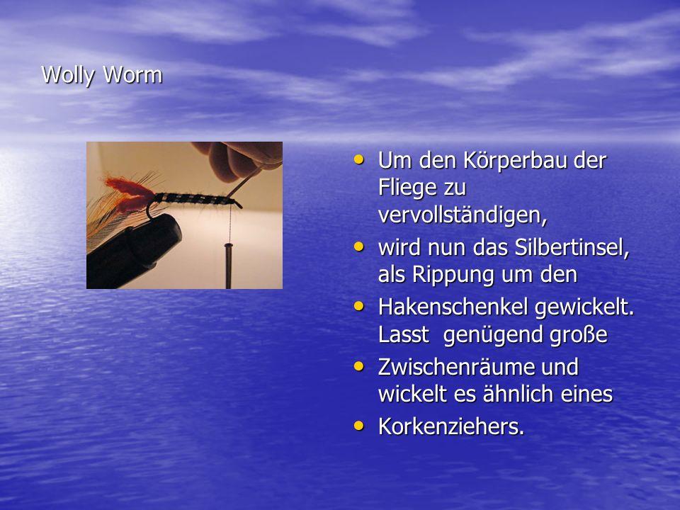 Fliegenbinden mit Frank Orlowski Klar .Klar .
