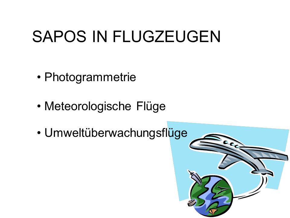 SAPOS IN HELIKOPTERN Instrumenten- und Sichtflug Präzisionsanflüge bei jedem Wetter Digitale Karte und SAPOS