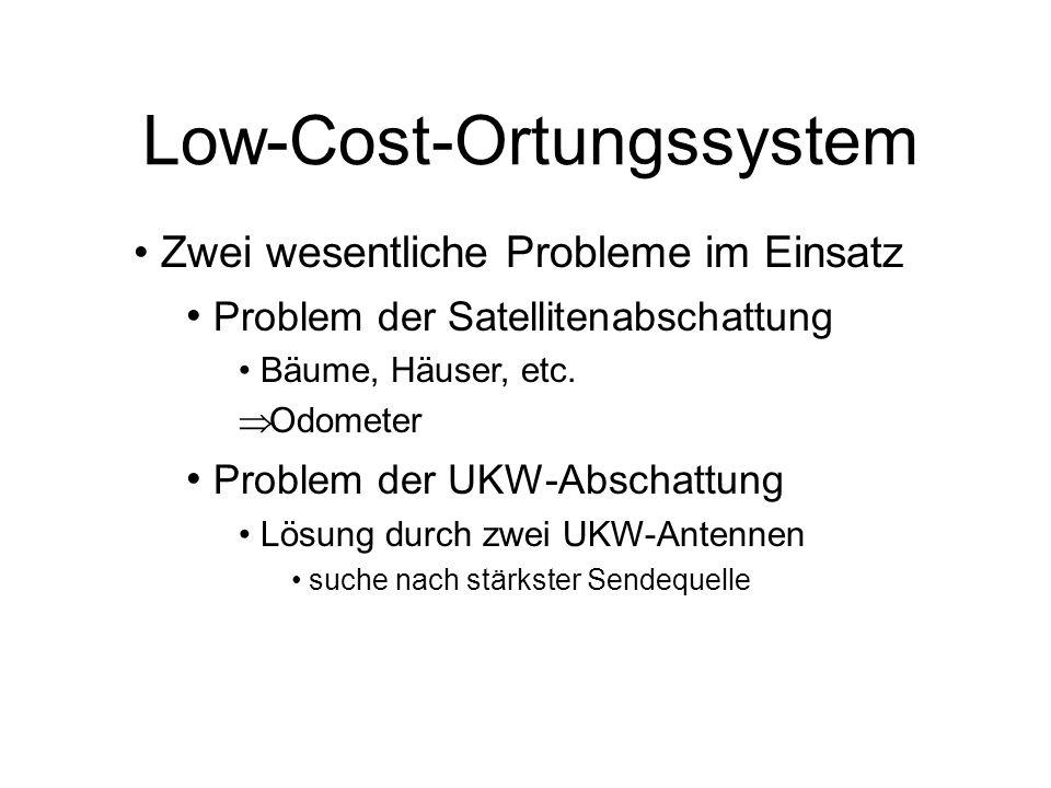 Low-Cost-Ortungssystem Eine Studie der Uni München