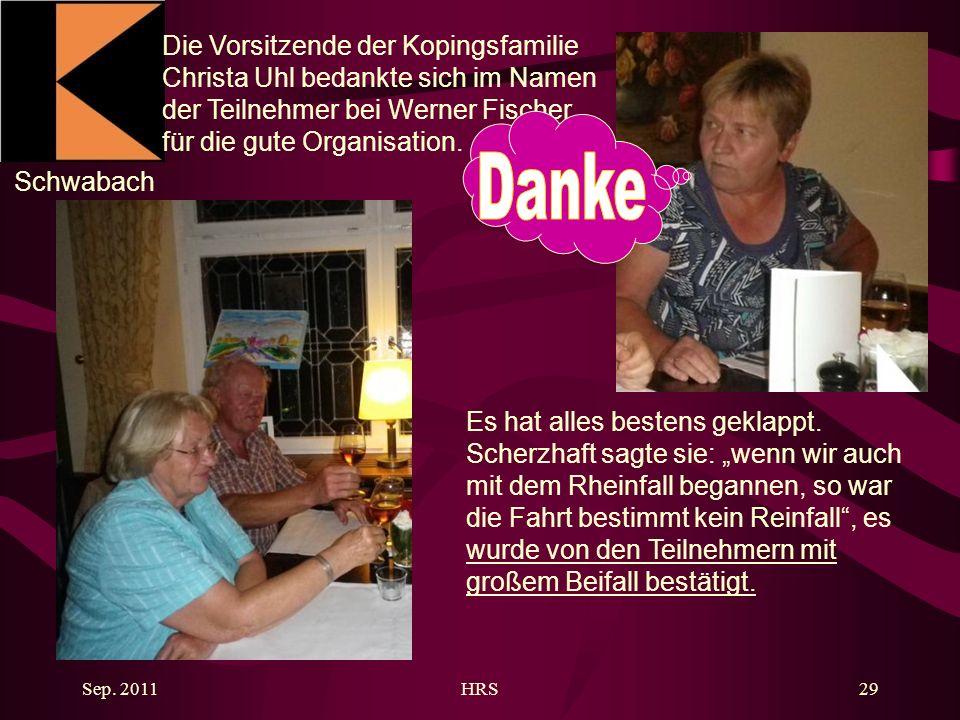 Schwabach Sep. 2011HRS29 Es hat alles bestens geklappt.