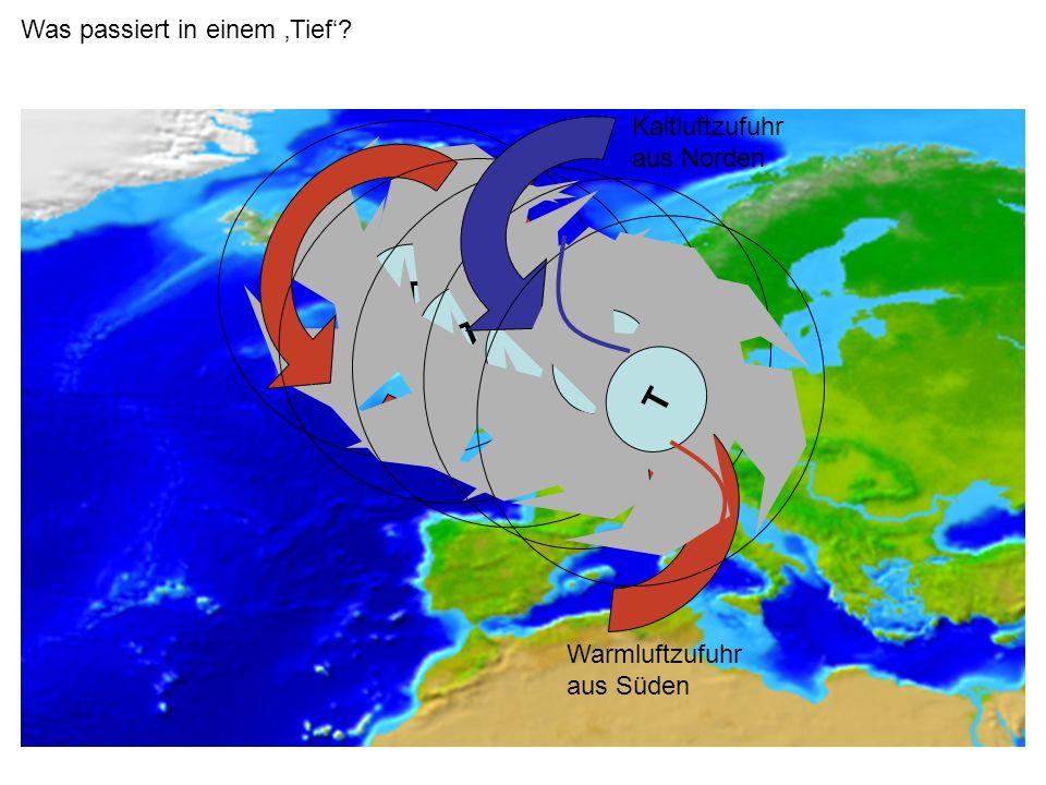 Höhe Wolkenuntergrenze Kalte Nacht Heiße Nacht Einfluß der Temperaturspanne im Tagesgang Temperatur/Feuchte