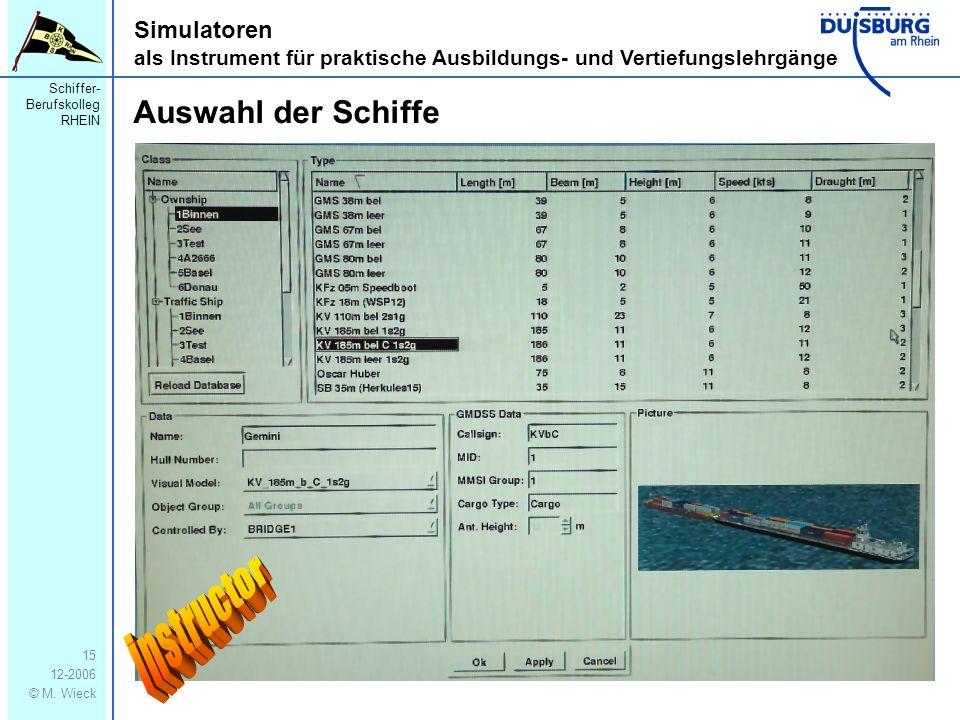 Schiffer- Berufskolleg RHEIN 12-2006 © M.