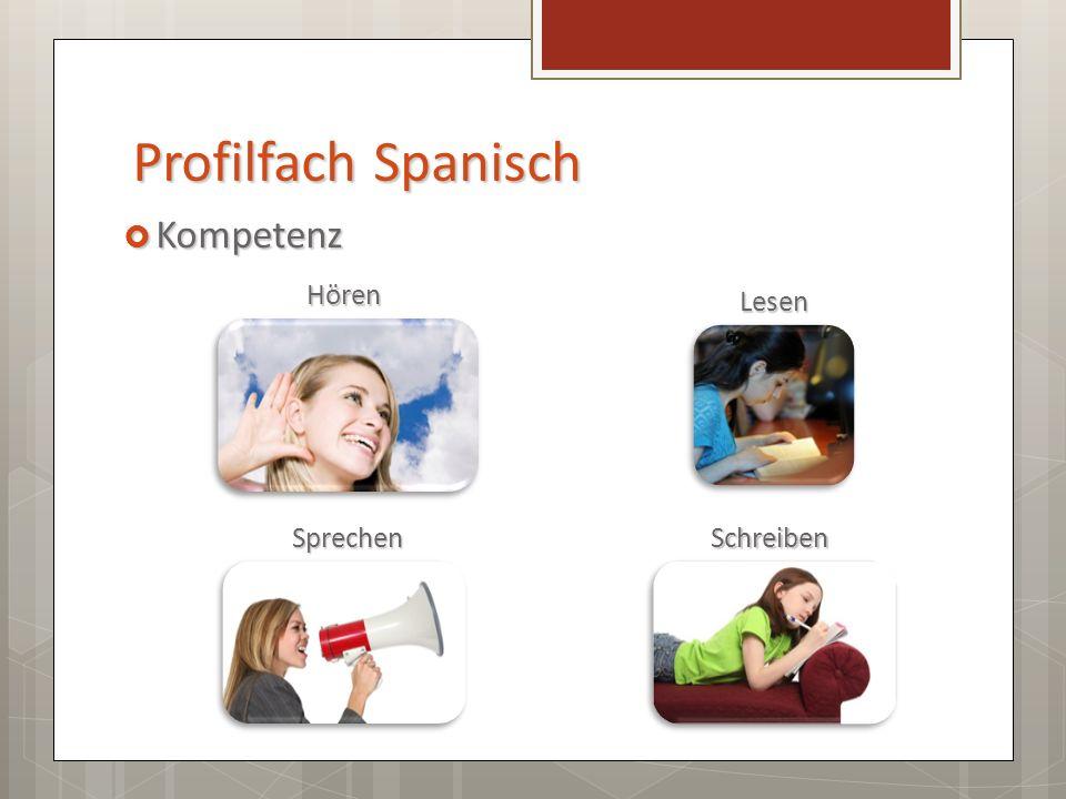 Profilfach Spanisch Lehrwerk Lehrwerk