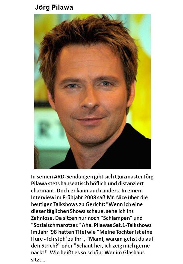 In seinen ARD-Sendungen gibt sich Quizmaster Jörg Pilawa stets hanseatisch höflich und distanziert charmant.