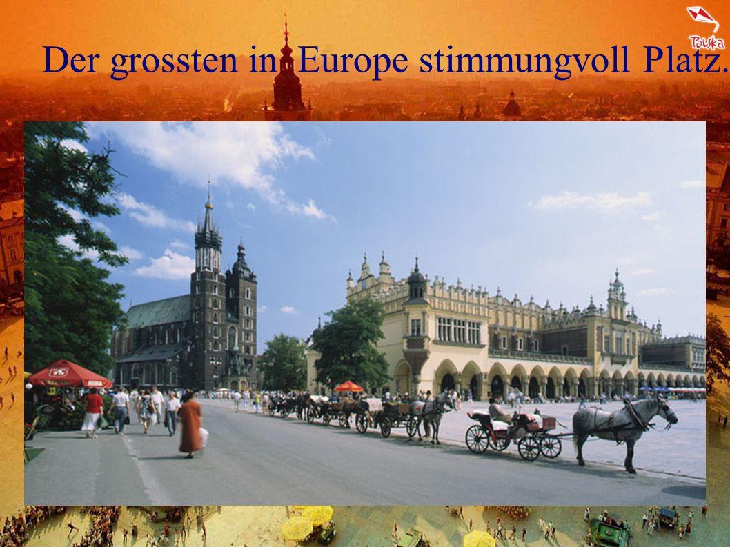 Aber Kraków ist ohne Frage am meisten bezaubernde Stadt in Polen
