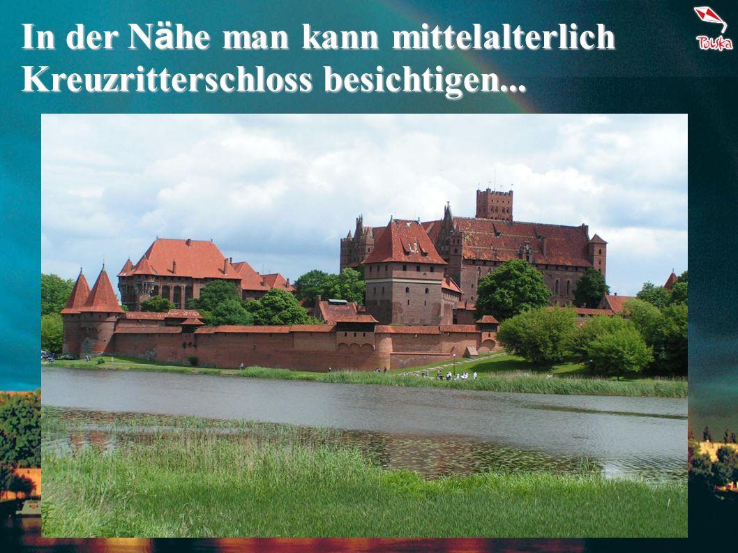Im unwiederholbarige Gdańsk man kann klassische Architektur und historische Hafen bewundern!