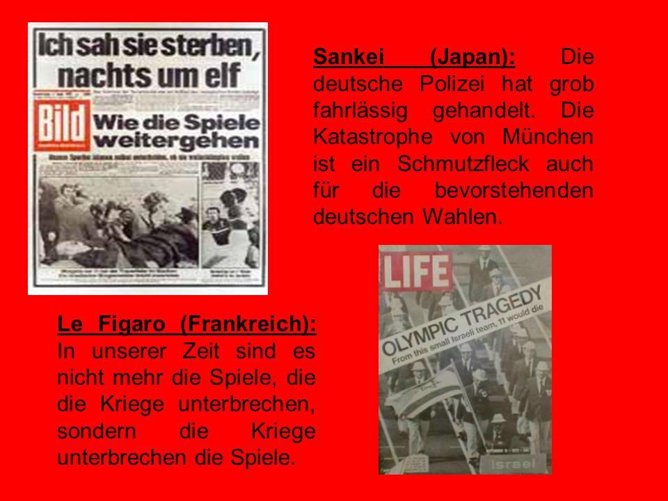 KOMMENTARE New York Times (USA): Der mörderische Angriff in München hat neue Tiefen der Kriminalität ausgelotet. Wenn die Olympischen Spiele zur Bühne