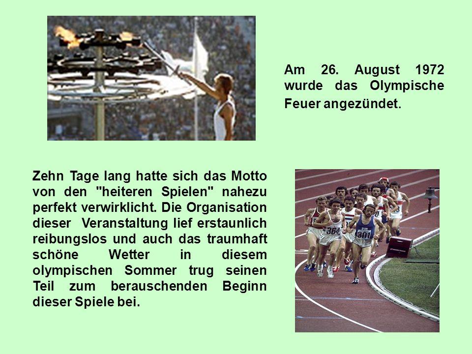 Die olympische Tragödie München 5. September 1972 Das Projekt wurde vorbereitet von: Katarzyna Sturmowska Marlena Fifielska Irena Imańska 3. rok mag.