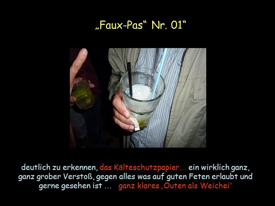 Faux-Pas Nr.
