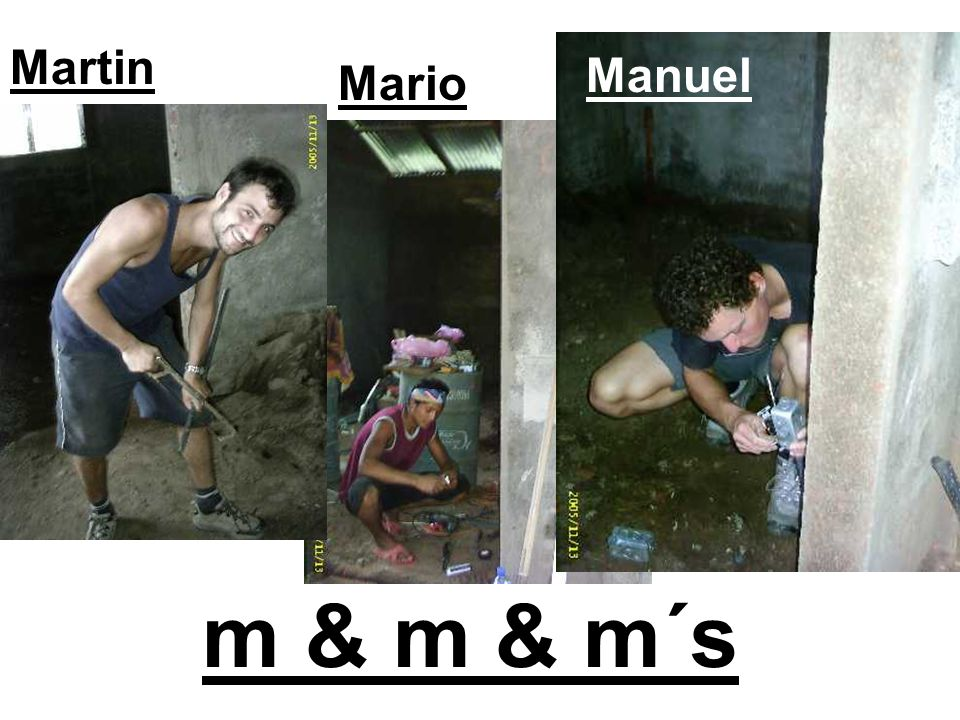 Manuel Mario Martin m & m & m´s
