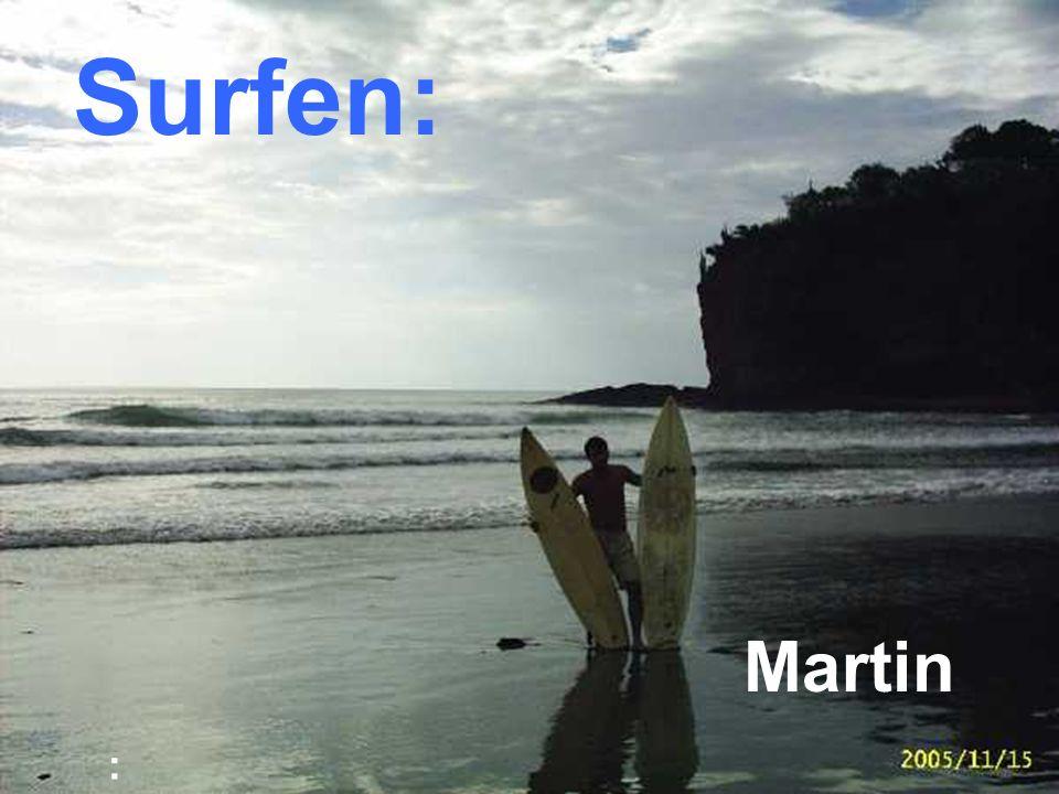 : Surfen: Martin