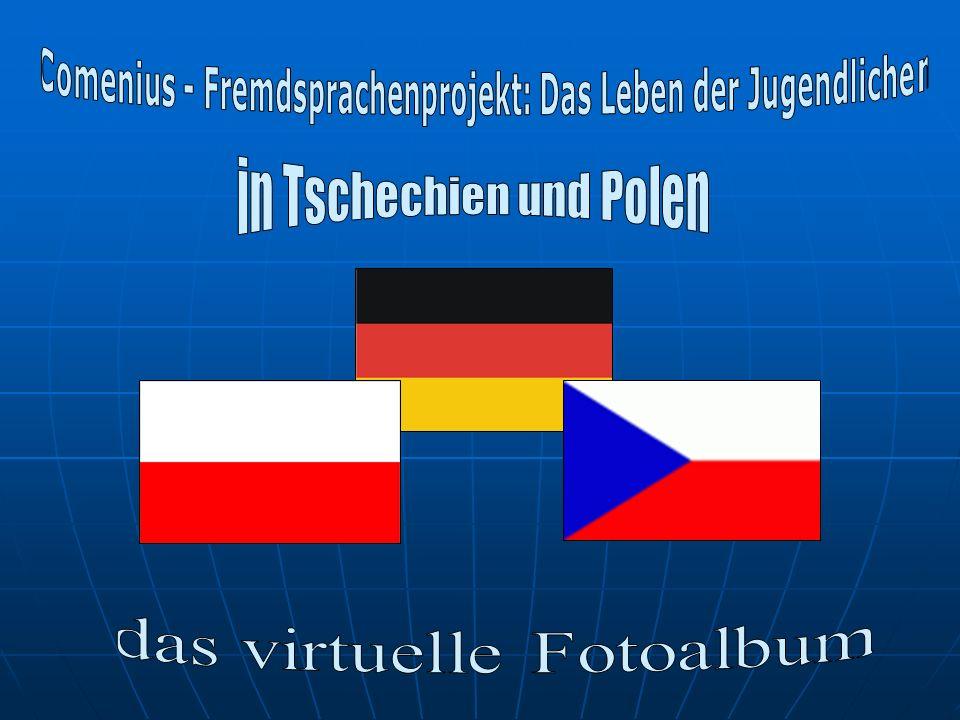 Tschechische Schüler in Polen