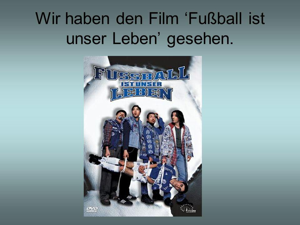 Wir haben den Film Fußball ist unser Leben gesehen.