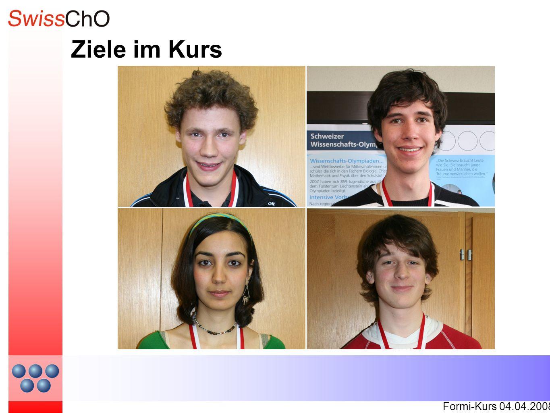Ziele im Kurs Formi-Kurs 04.04.2008