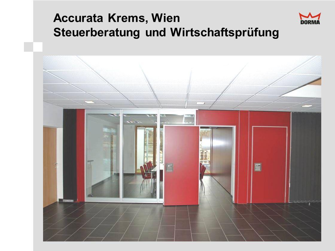 Accurata Krems, Wien Steuerberatung und Wirtschaftsprüfung