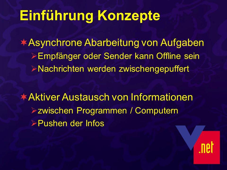 JobShopManager.vbpj frmCreatorMain Erzeugt Jobs / Nachrichten Stellt Nachrichten in Job-Queue