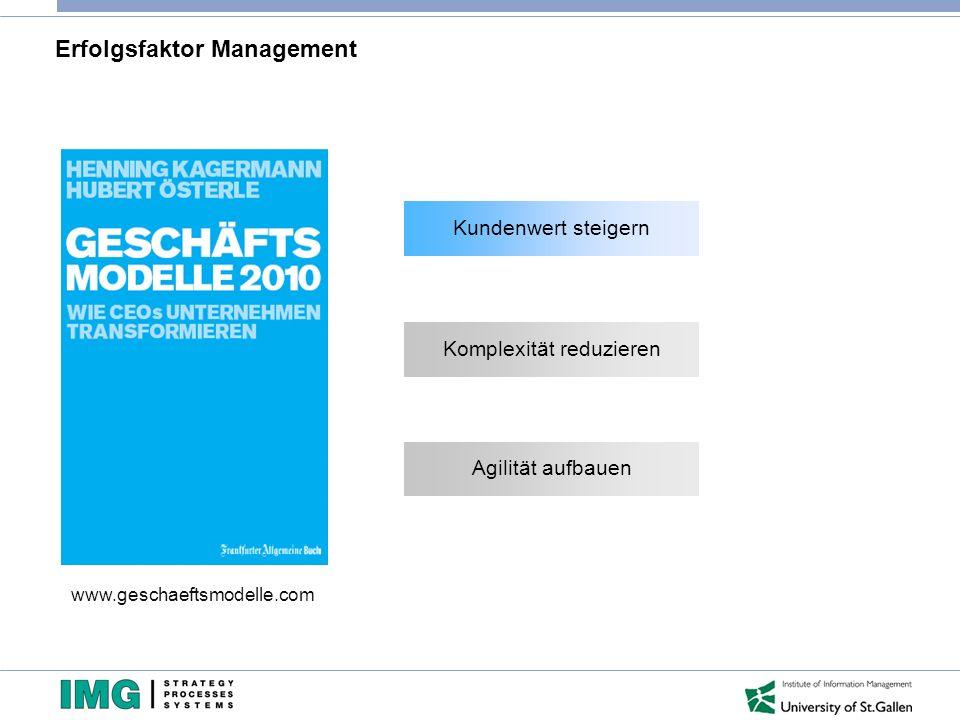 4 - Die Vernetzung der spezialisierten Dienstleistungen ermöglicht neue Geschäftsmodelle Quelle: J.