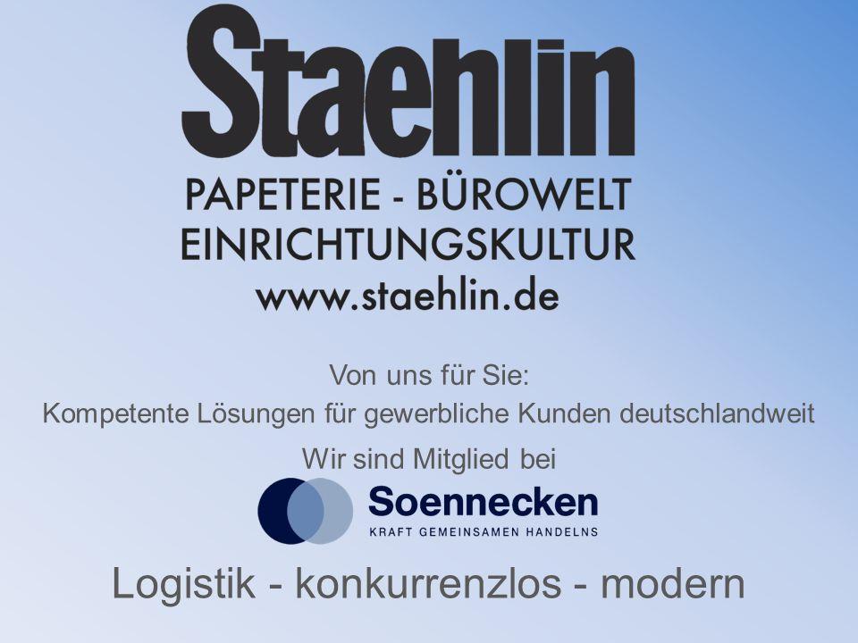 Logistik - konkurrenzlos - modern Kompetente Lösungen für gewerbliche Kunden deutschlandweit Wir sind Mitglied bei Von uns für Sie: