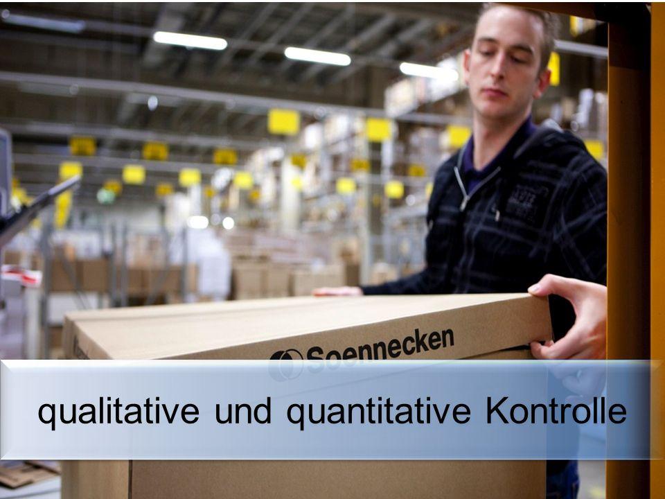 qualitative und quantitative Kontrolle