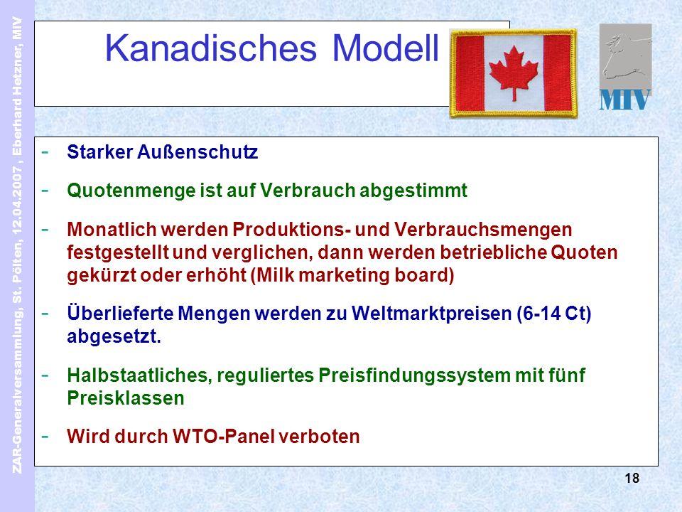 ZAR-Generalversammlung, St. Pölten, 12.04.2007, Eberhard Hetzner, MIV 18 Kanadisches Modell - Starker Außenschutz - Quotenmenge ist auf Verbrauch abge
