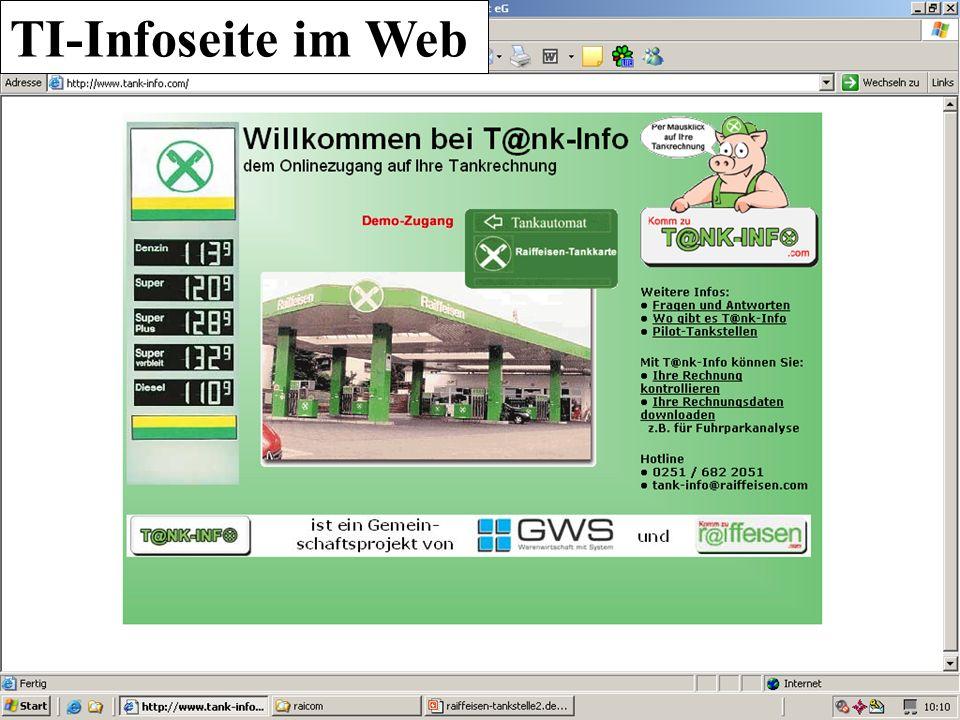 UA TI-Infoseite im Web