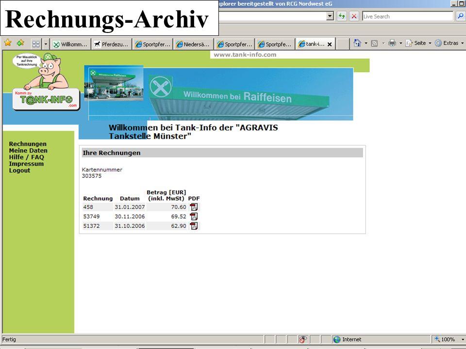 Rechnungs-Archiv