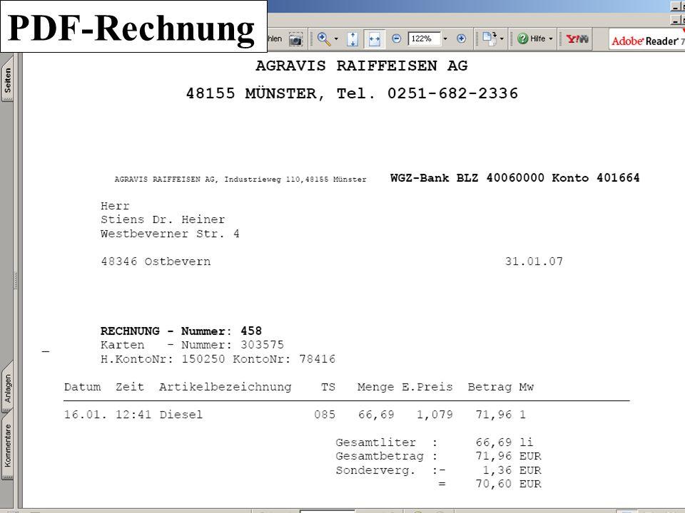 PDF-Rechnung
