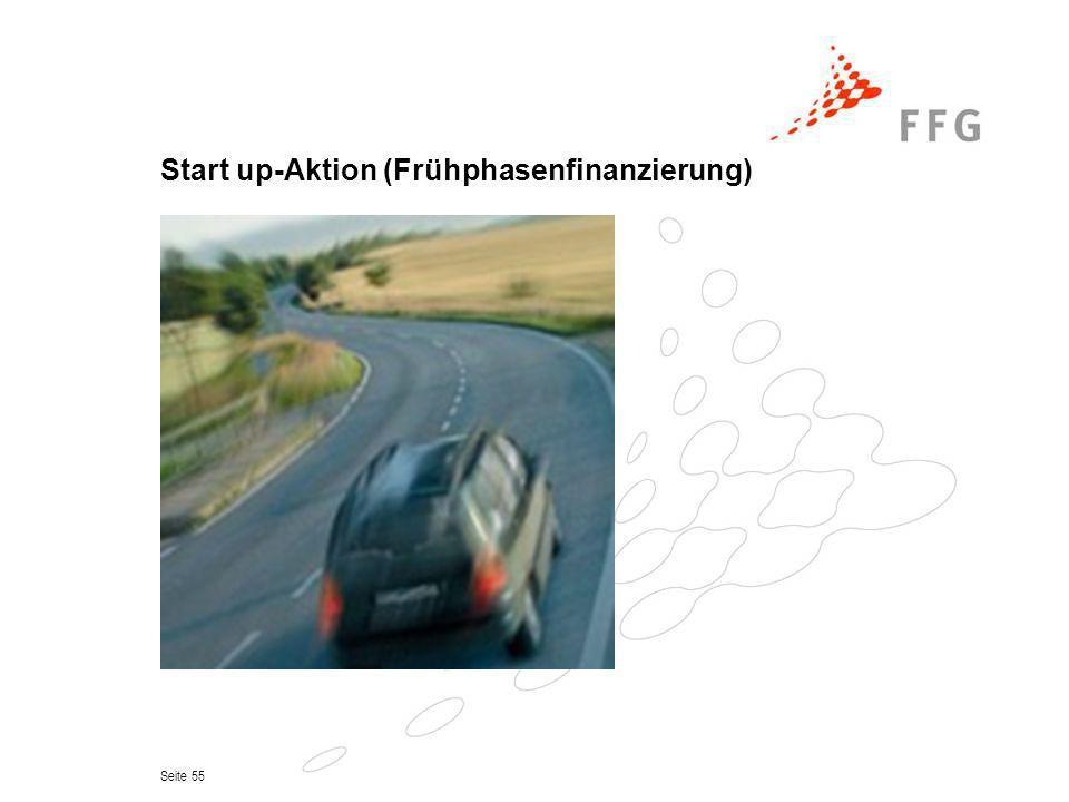 Seite 55 Start up-Aktion (Frühphasenfinanzierung)