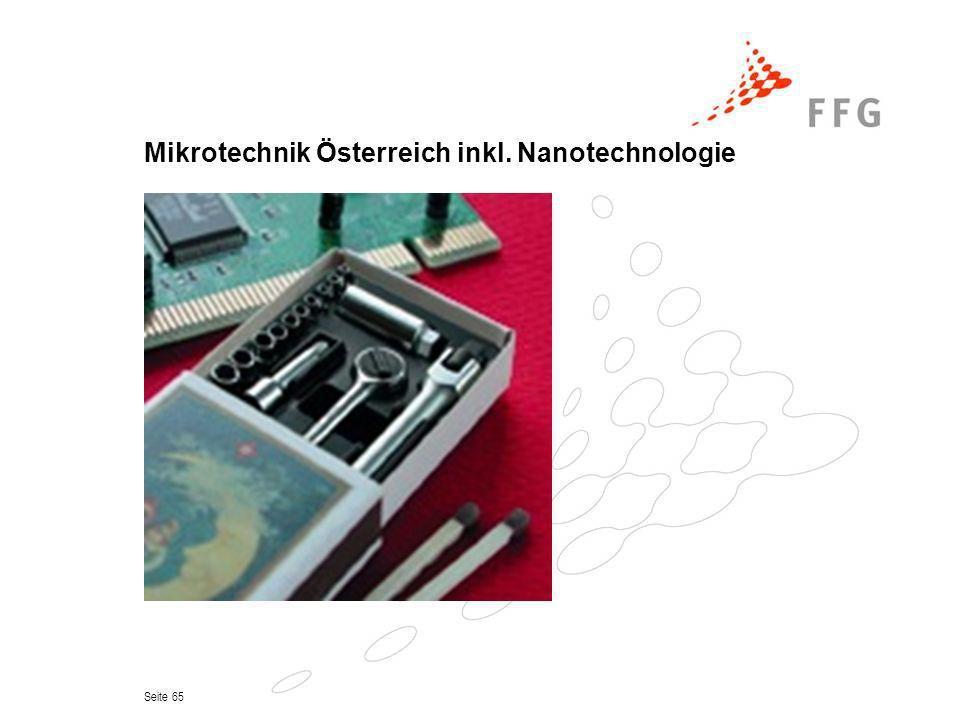 Seite 65 Mikrotechnik Österreich inkl. Nanotechnologie