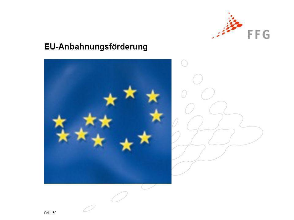 Seite 69 EU-Anbahnungsförderung